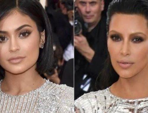 O preenchimento também chegou aos lábios das irmãs Kylie Jenner e Kim Kardashian!